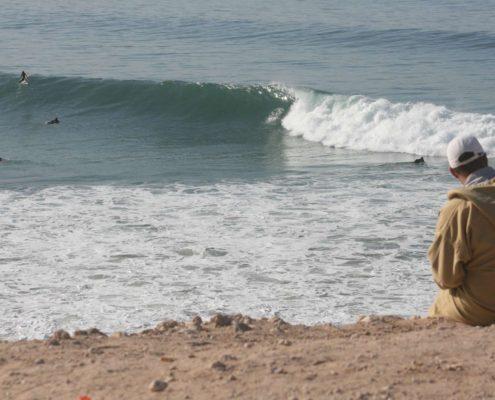Banana, spot de surf entre Agadir, Tamraght et Taghazout