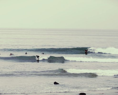 Le rocher du diable surf taghazout