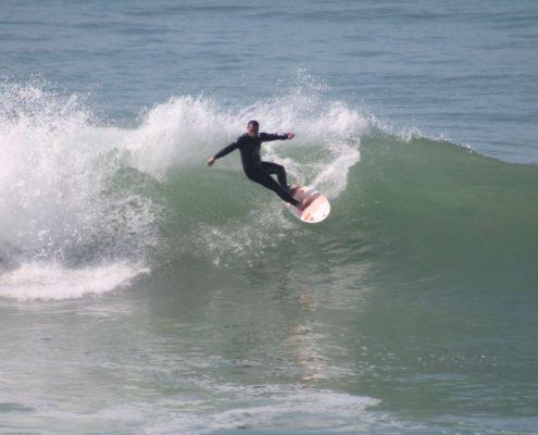 Le 12, spot de surf au Maroc tamraght