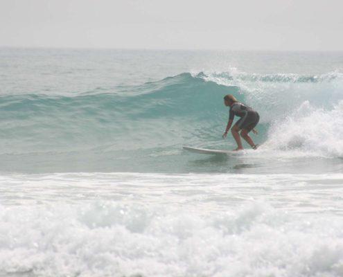 Panorama spot de surf Maroc
